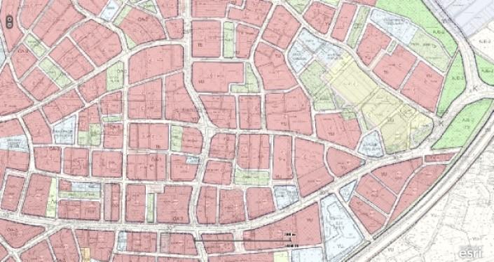 Bayrampaşa`da 11.000m2 T+H+K imarlı 2 Emsal Satılık Arazi