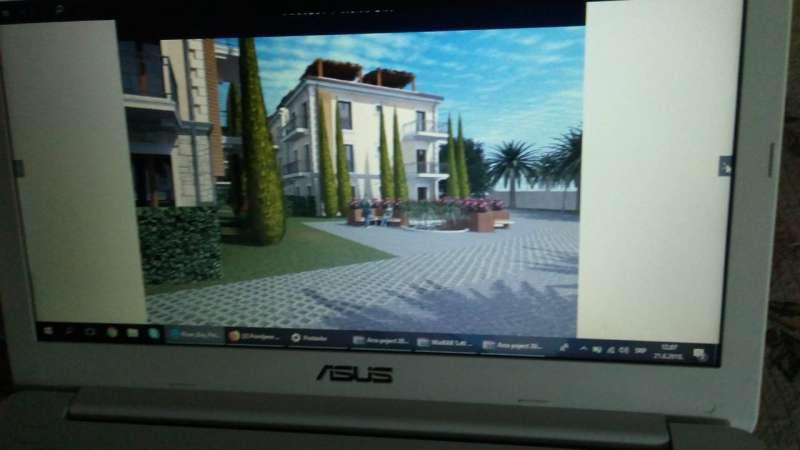 Montenegro Kotor Körfezinde toplu villa inşaatı için projesi hazır konut ve ticari imarlı 10.000 m2  arsa