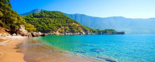 Antalya Manavgat SİDEDE DENİZE SIFIR KİRALIK TESETTÜR OTELİ