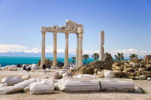 Antalya Manavgat Sidede DENİZE 600 METRE KİRALIK BUTİK OTEL