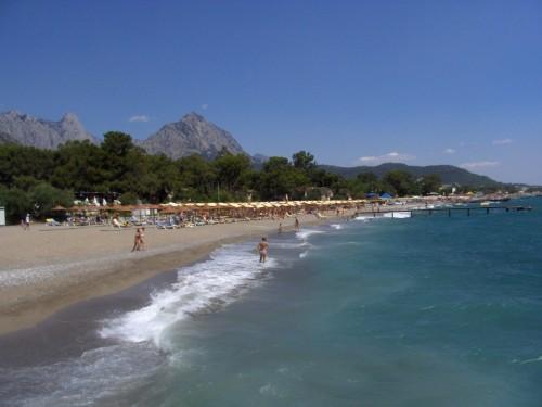 Antalya GÖYNÜKTE DENİZE SIFIR 5 YILDIZLI SATILIK KELEPİR OTEL