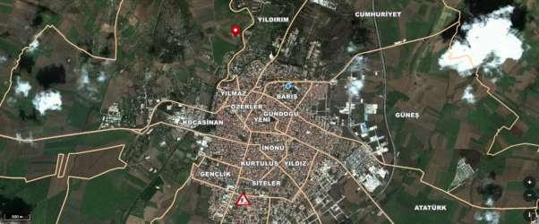 Lüleburgaz Dere Mahallesinde Müstakil Satılık Tarla