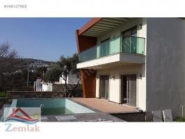 Zemlak`tan Bodrum`da satılık özel havuzlu müstakil havuzlu akıllı ev ID-58