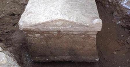 Denizli`de 2000 yıllık tarihi anıt mezar ortaya çıktı